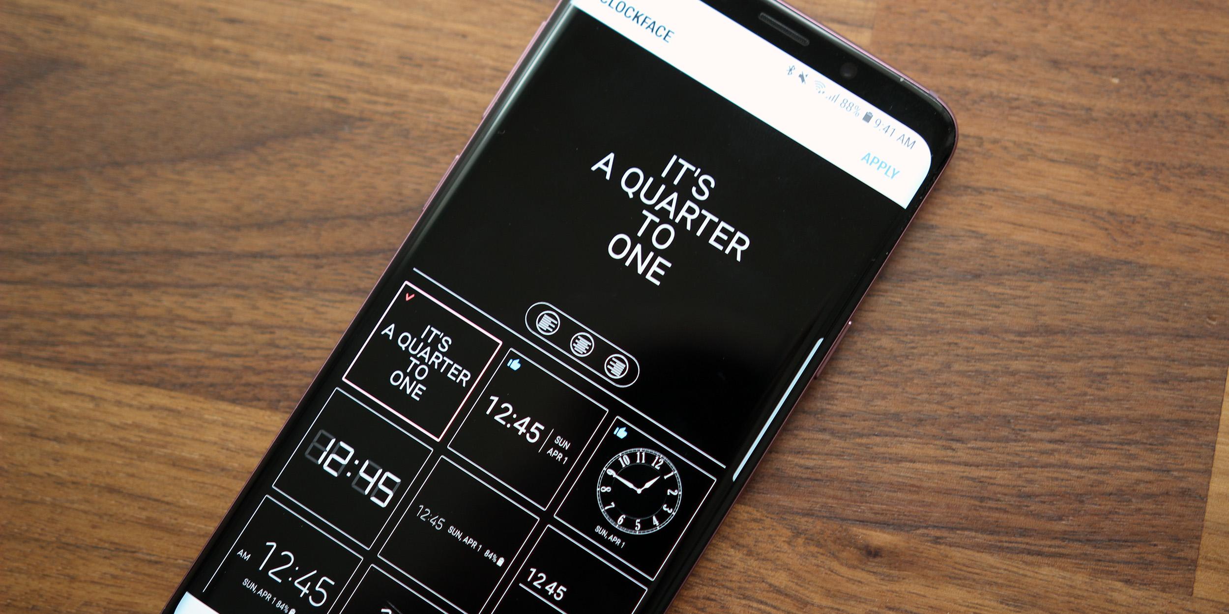 Always on Display Screen Bar S8/S9 Edge - Amoled for
