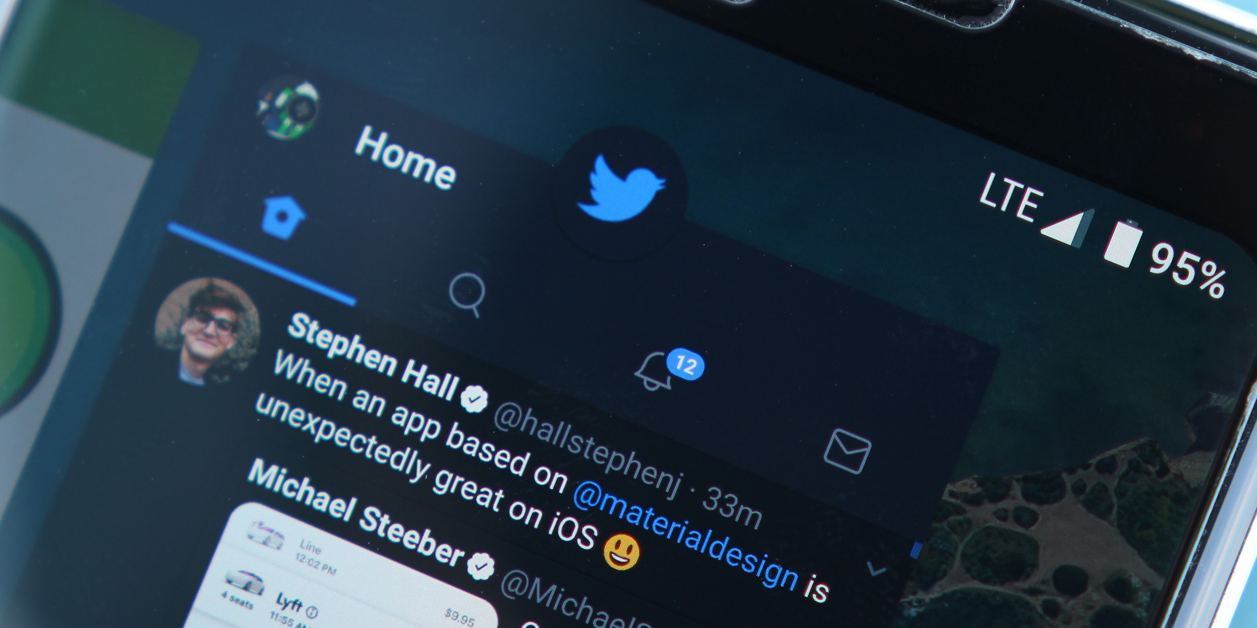 twitter rolling out a bottom bar on android removes swiping between tabs gallery
