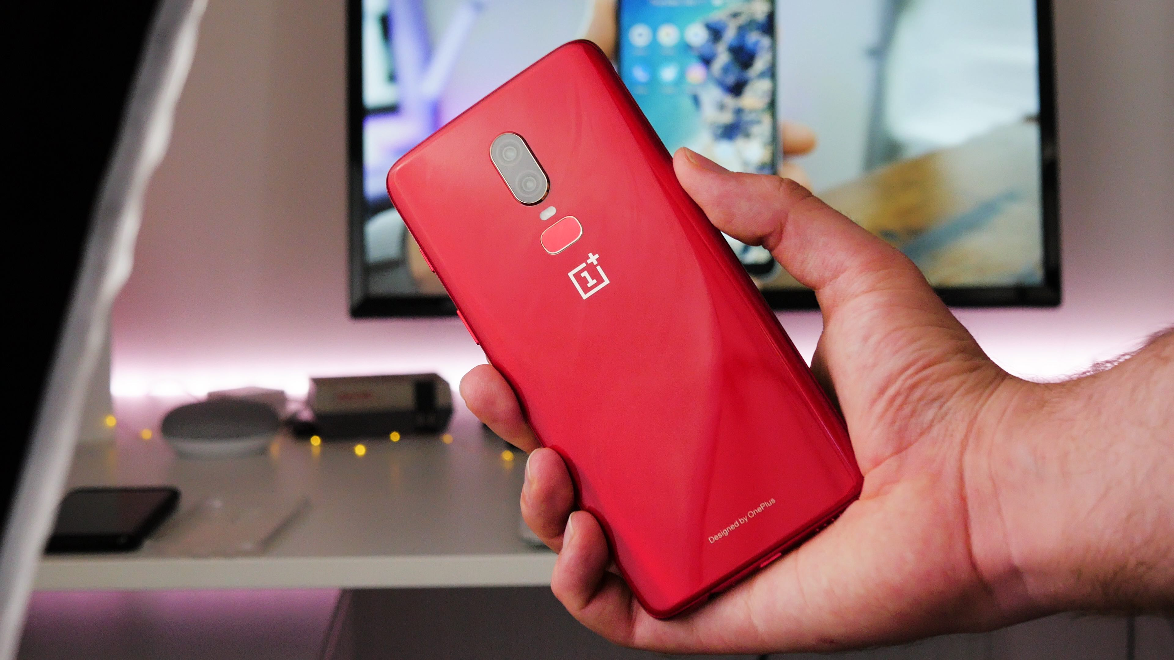 Image result for oneplus 6 red