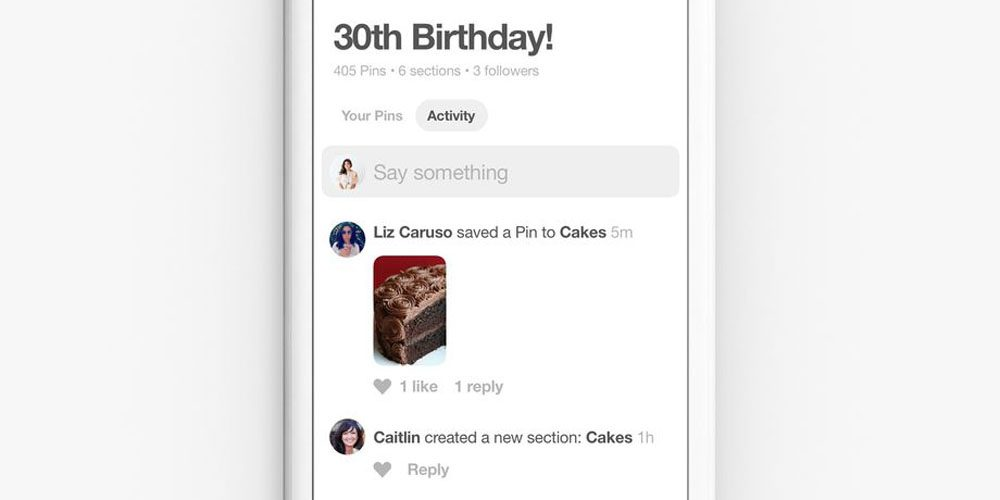 pinterest reinvents itself as a chatroom for group collaborative projects