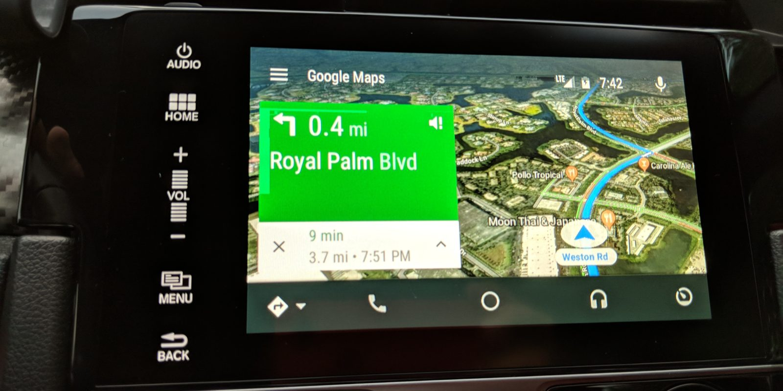 Google Maps On Android Auto Now Has A Satellite View 9to5google