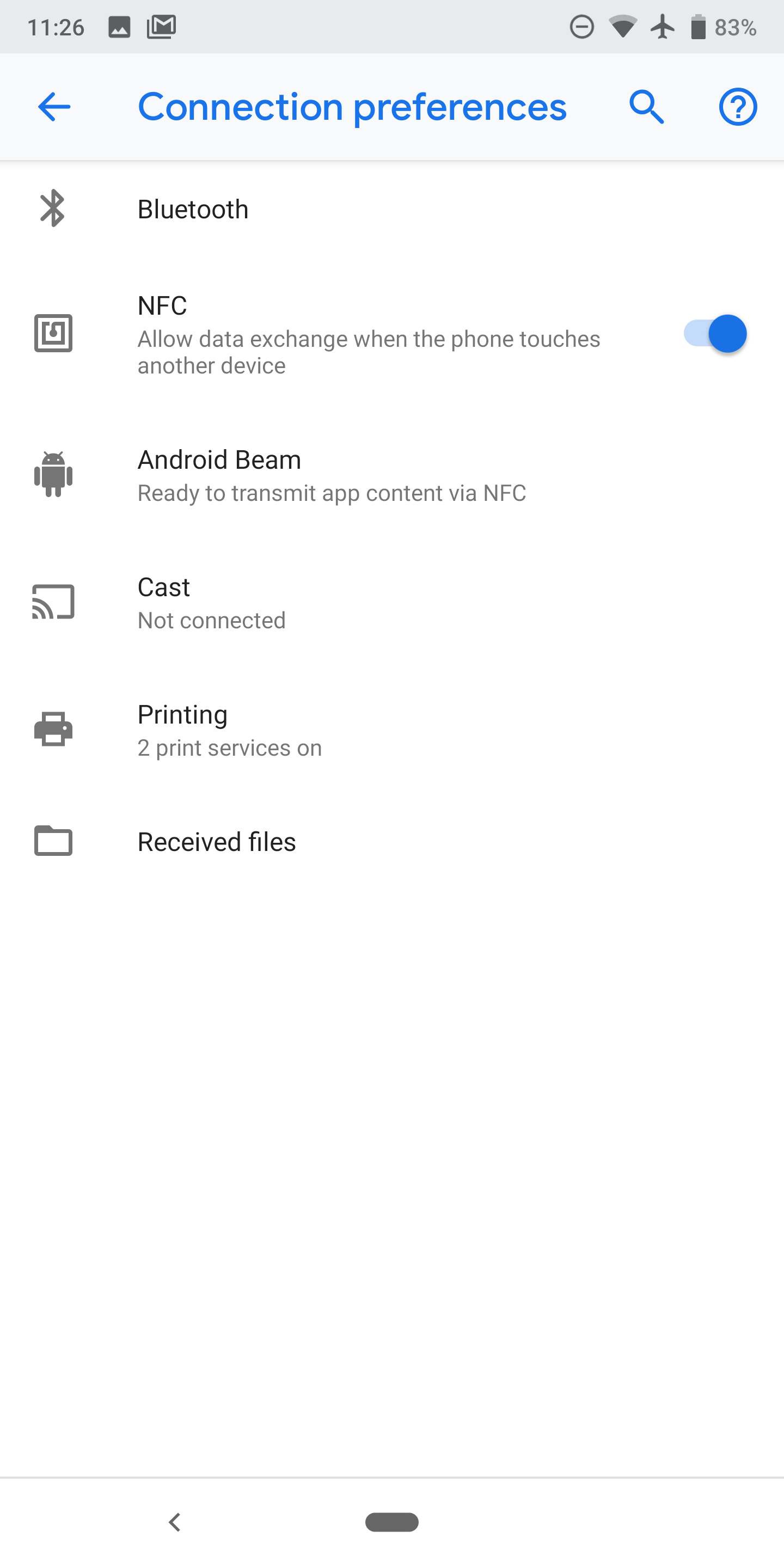 Android P Dp4 Icons System Wide Are Now More In Line W Google