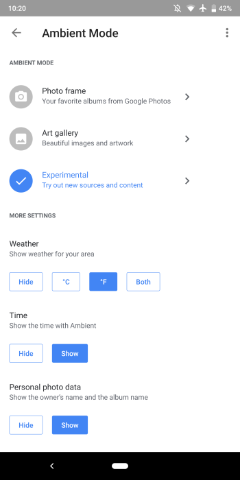 Chromecast Ambient Mode gets revamped Google Home settings