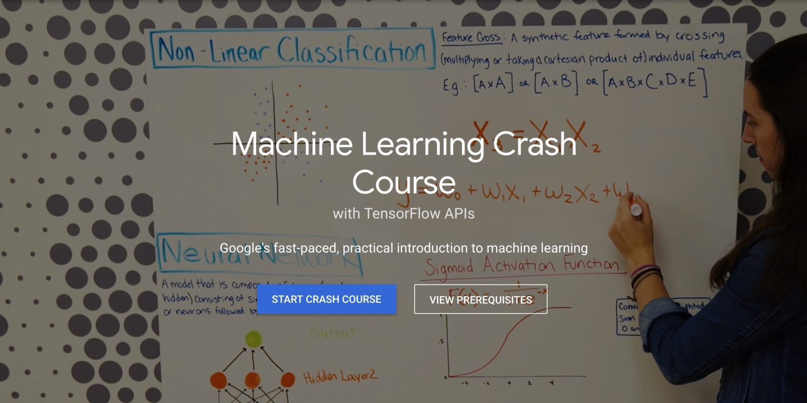 Image result for crash course machine learning google