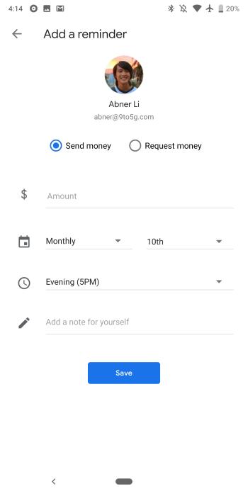 Google Pay 2 70 integrates P2P 'Sending,' adds 'Passes' tab
