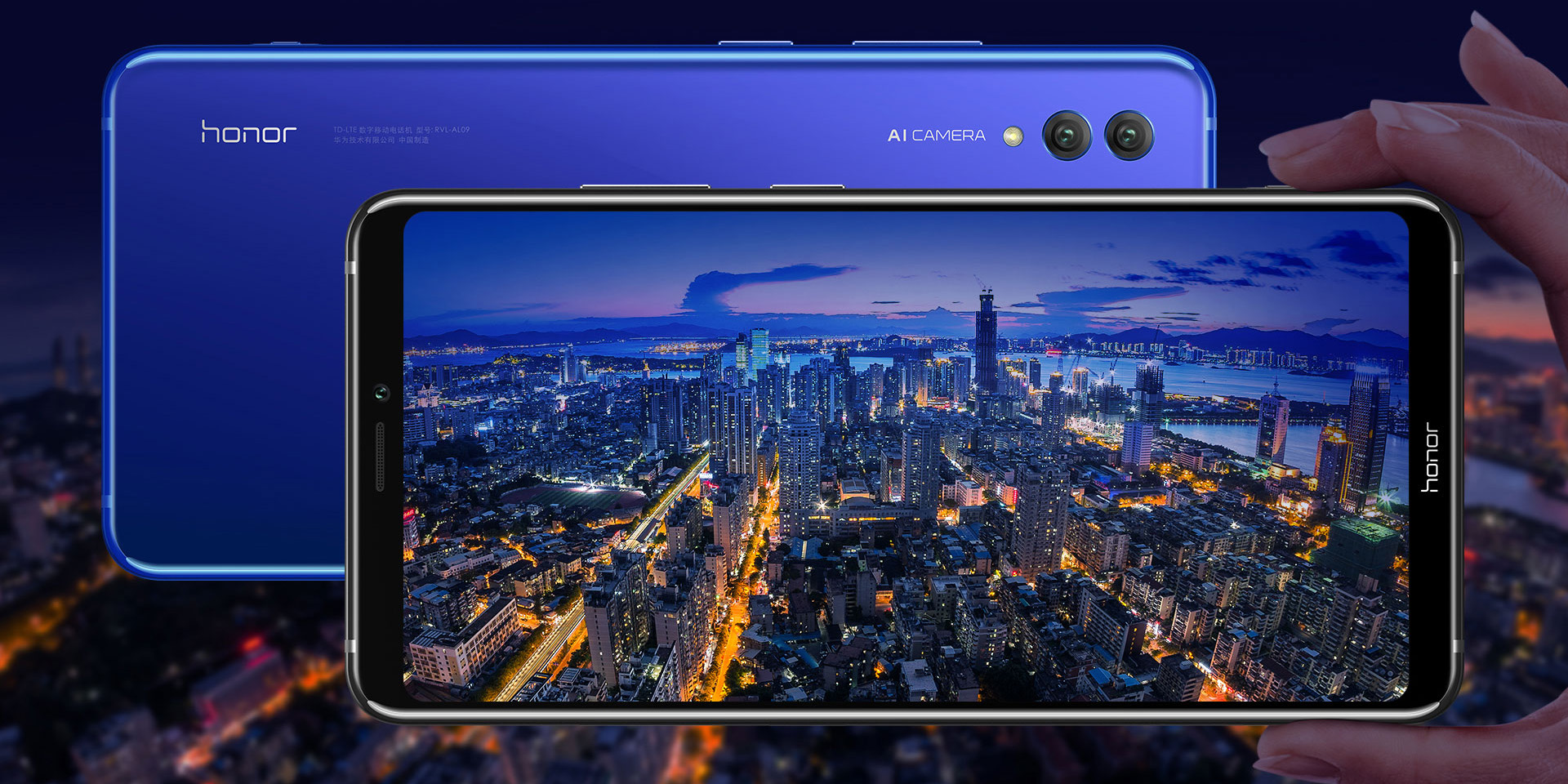 Honor Note 10 goes official w/ a 7-inch screen in a smartphone-sized body