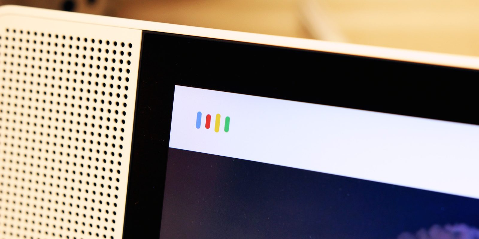 Google homescreen redesign rolling out to Lenovo Smart Displays
