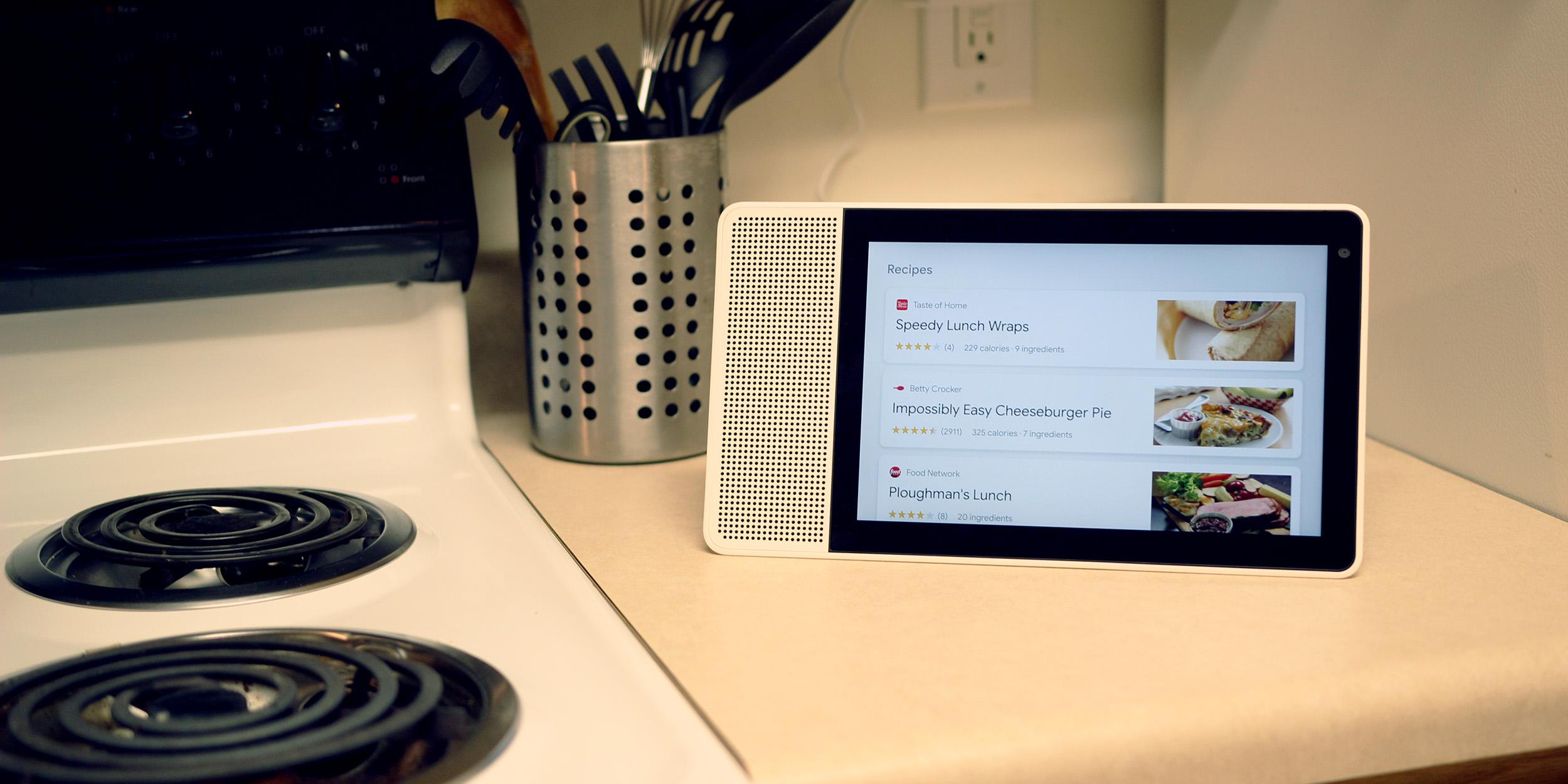 lenovo smart display kitchen
