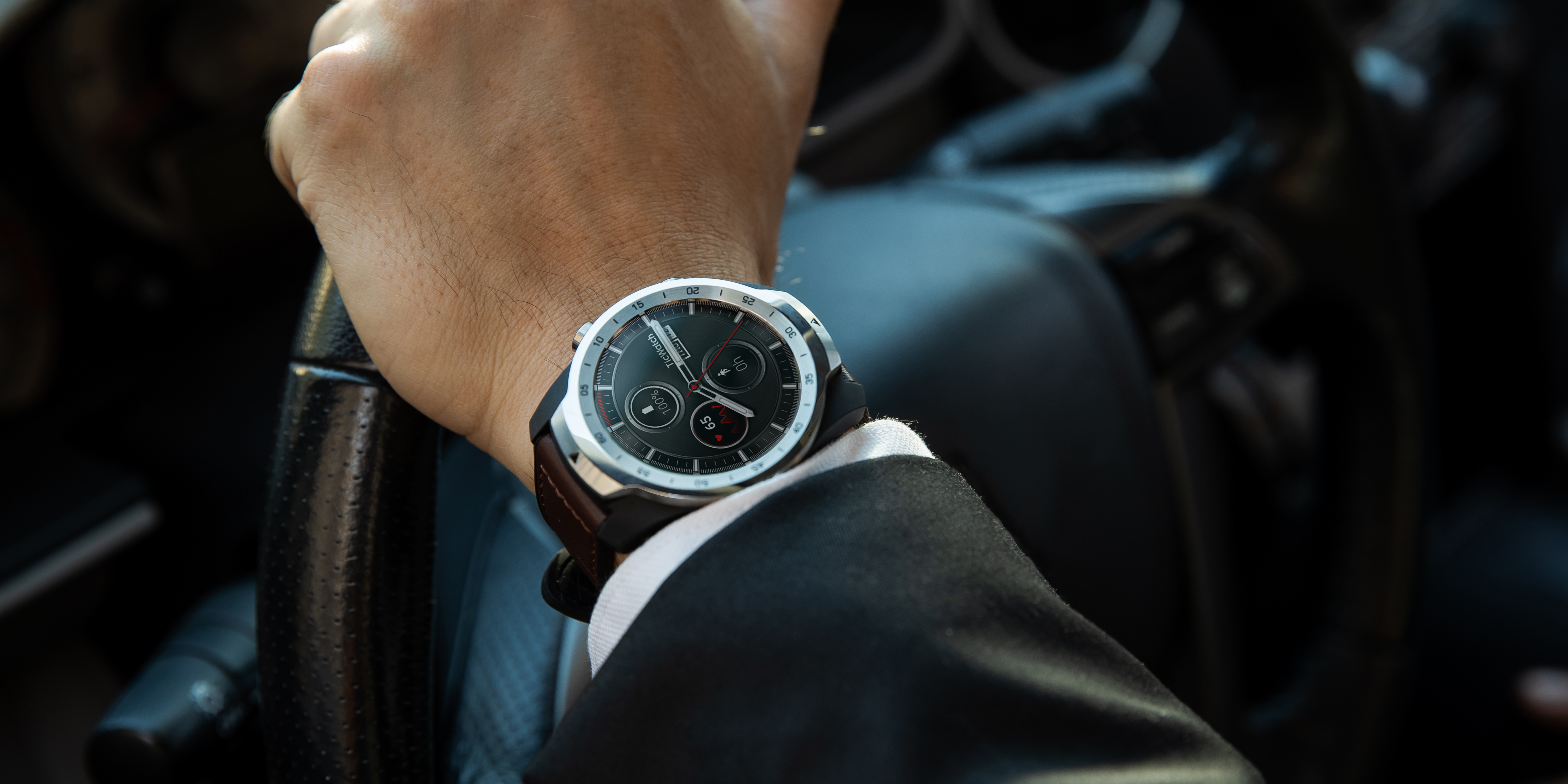 ticwatch pro goes on sale today for 249 w wear os dual display nfc 5 day battery life