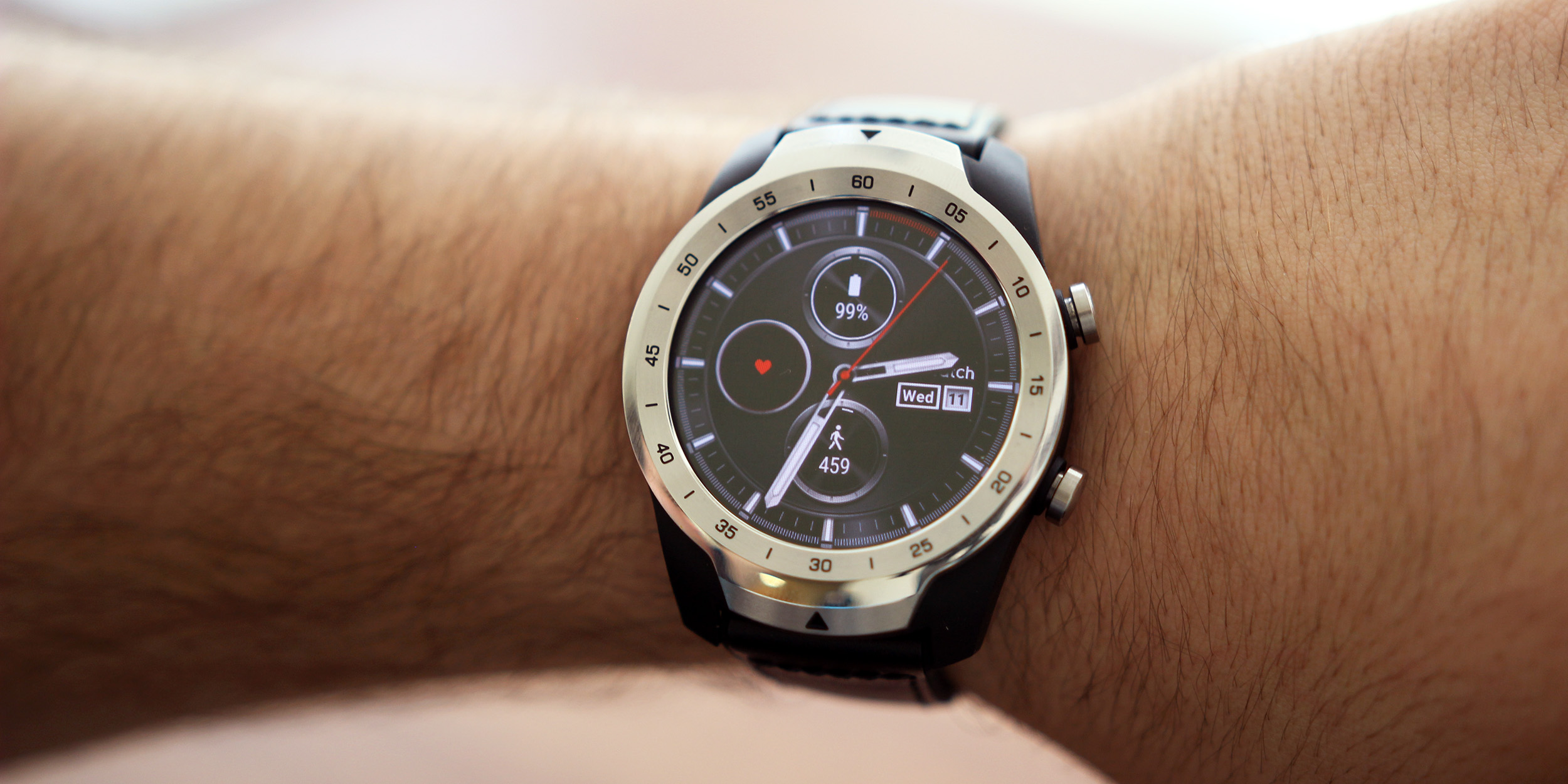 ticwatch pro review the wear os battery king is my new favorite android smartwatch