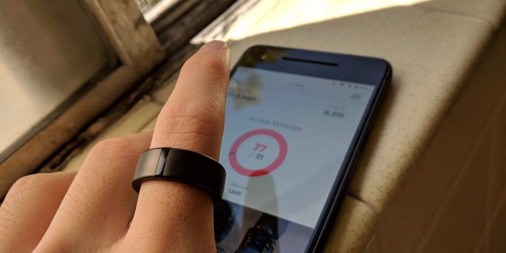Motiv Smart Ring fitness tracker and Android app