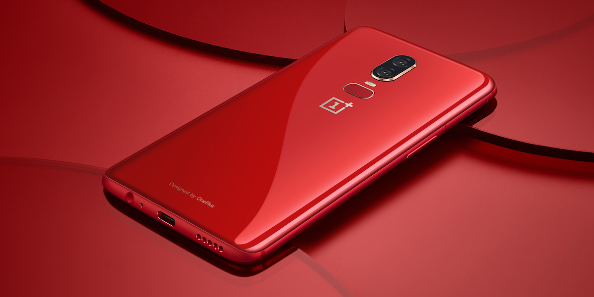 oneplus 6 goes on sale in red for 579 as bullets wireless go back in stock
