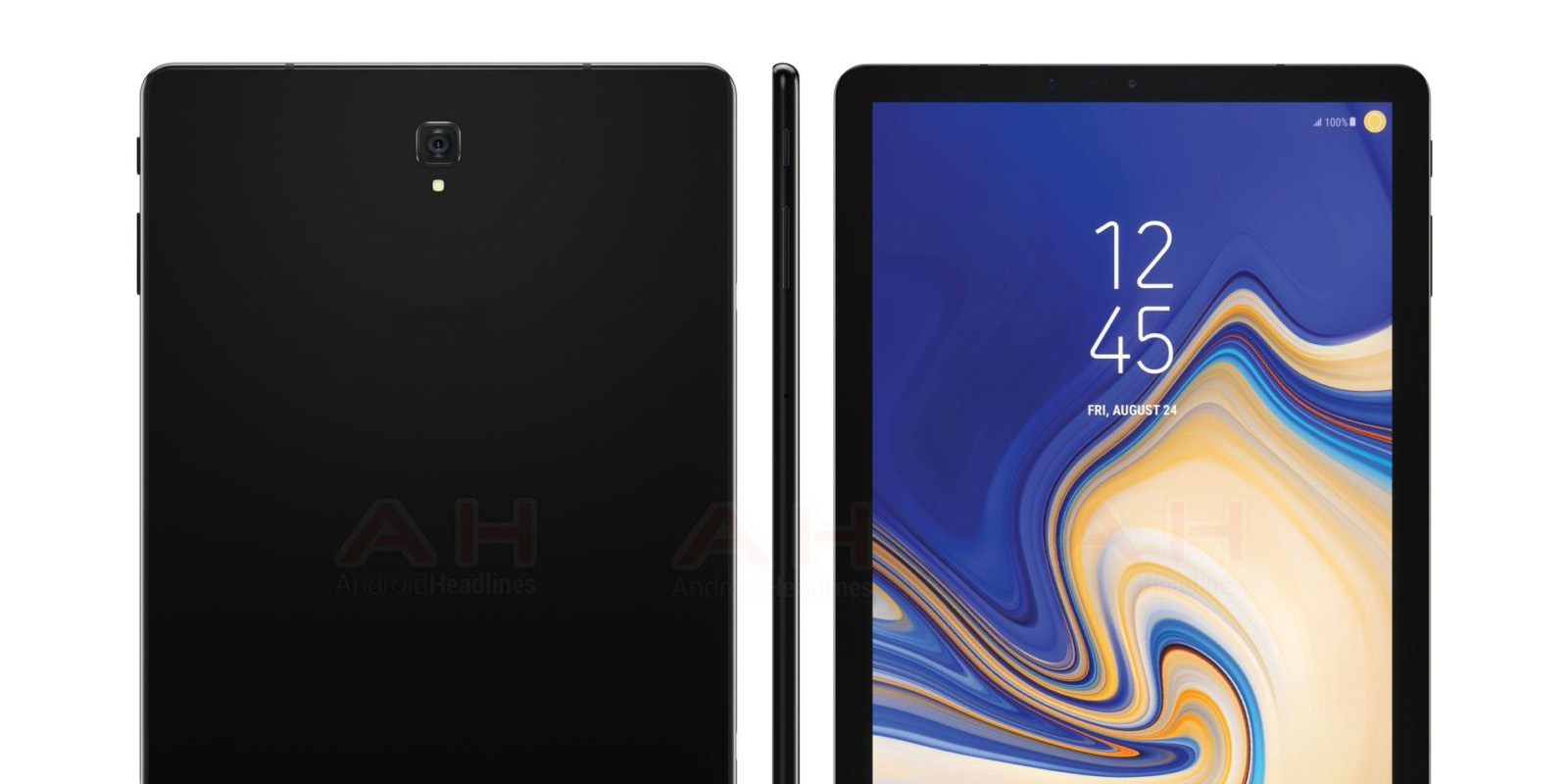 Samsung Galaxy Tab S4 leaks w/ no home button, slimmer