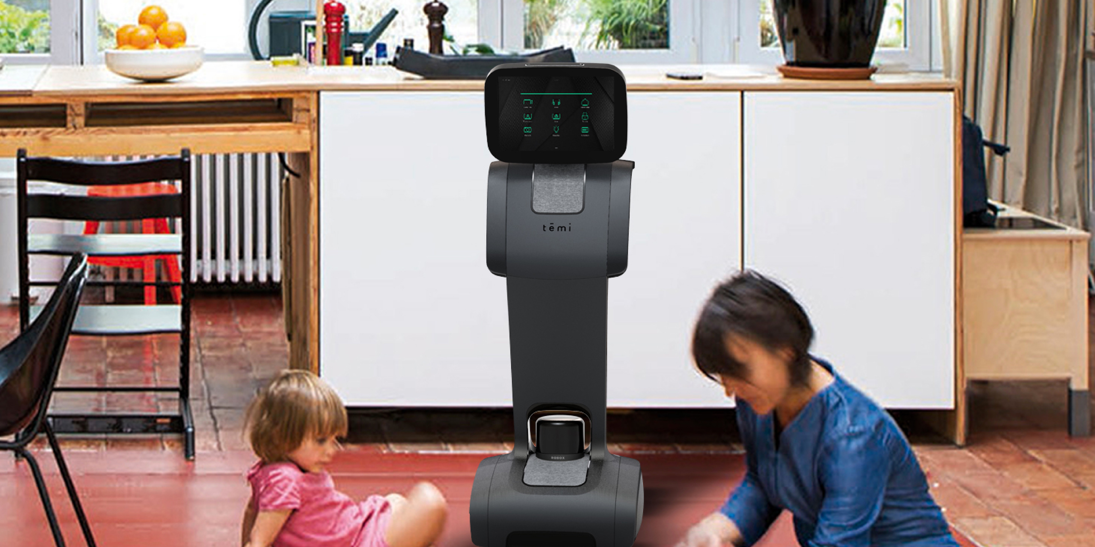 temi s personal home robot adding ok google assistant launching this year for 1 499