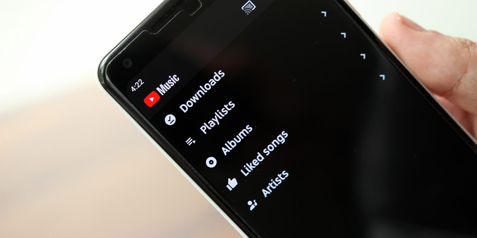 A year later, YouTube Music adds library sorting for albums and playlists