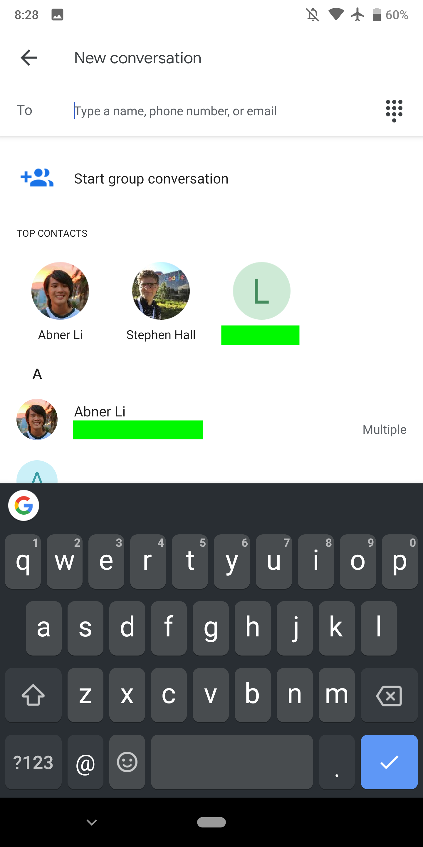 Android Messages 3 5 preps custom 'Minis' avatar stickers, revamped
