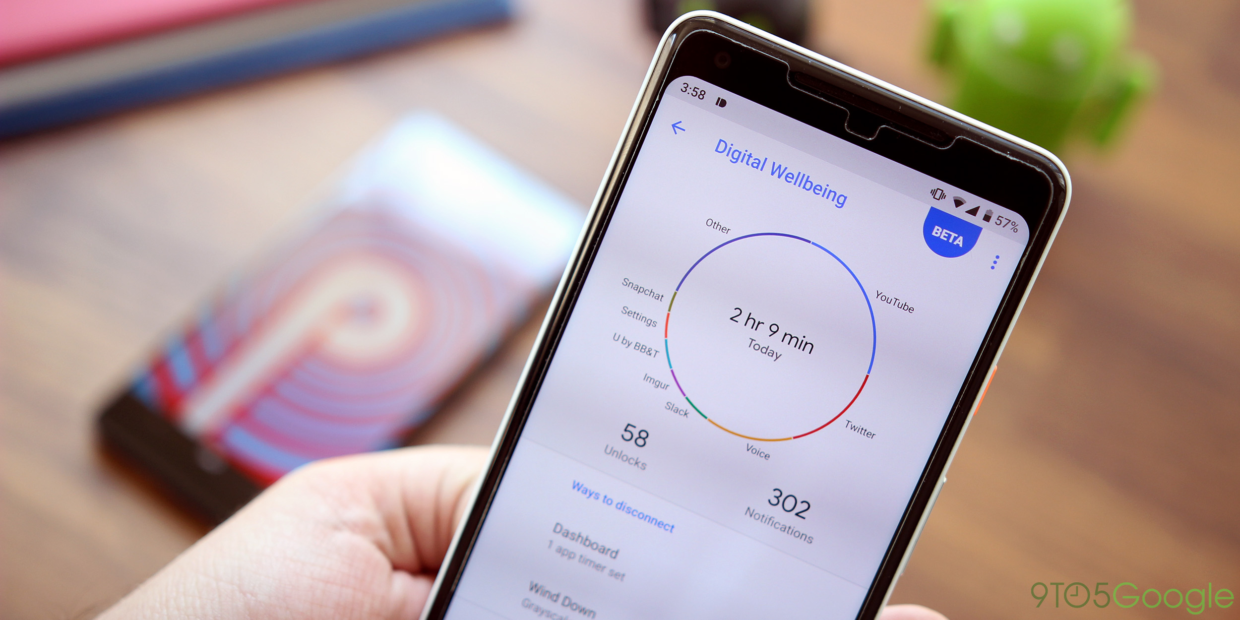 nokia 7 plus is the first non pixel device to get google s digital wellbeing feature on android 9 pie
