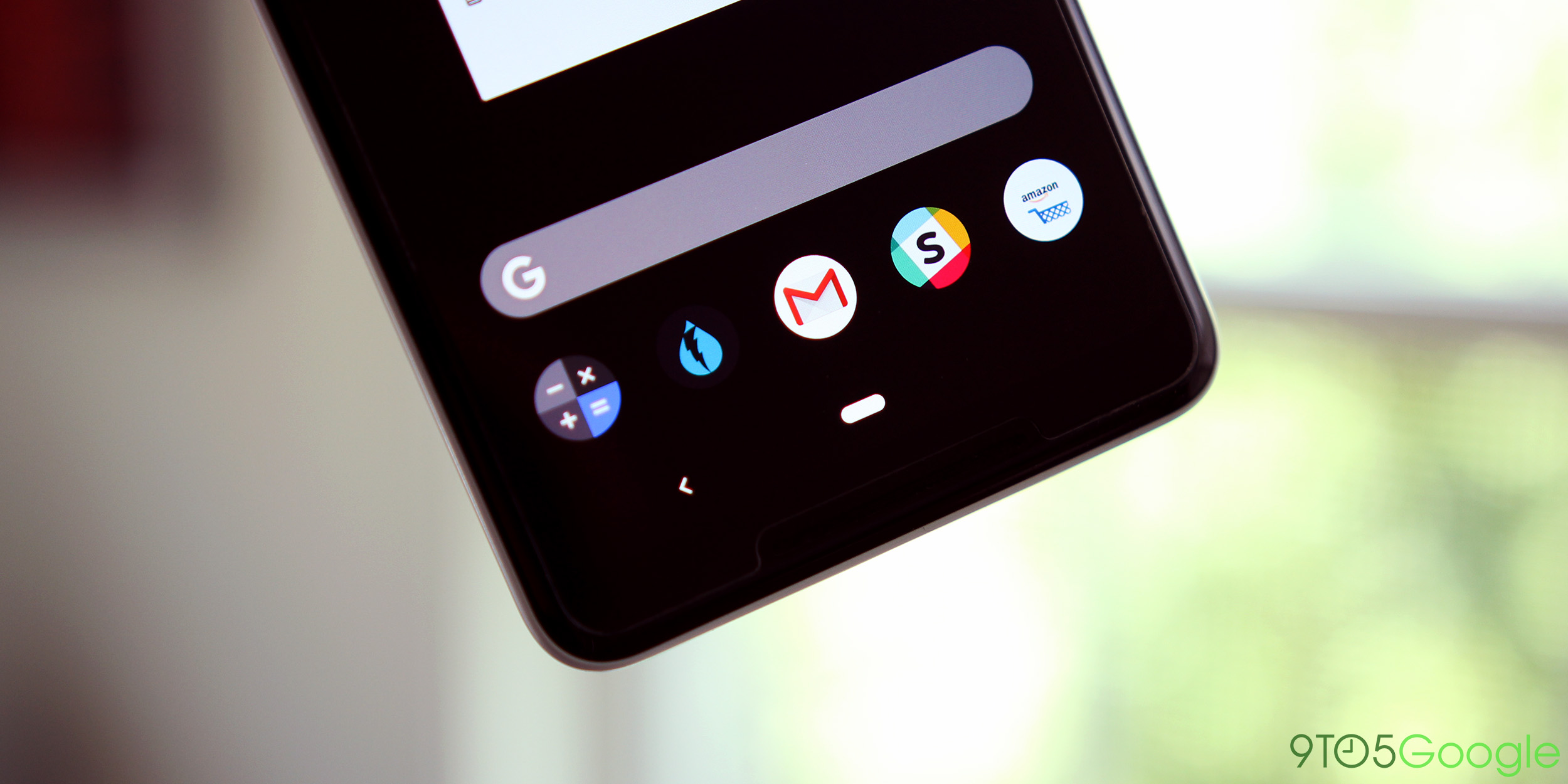 android pie pill gesture navigation