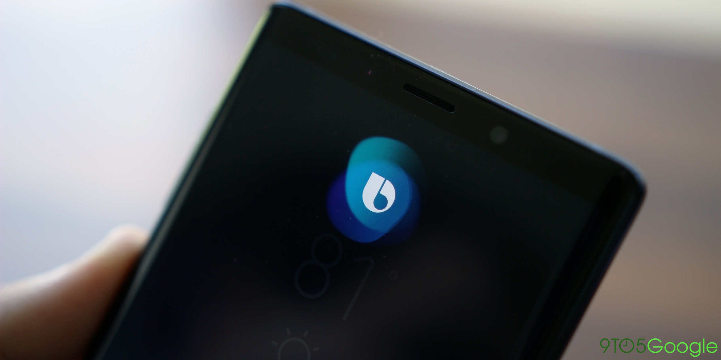 You can't disable the Samsung Galaxy Note 9's Bixby button, but