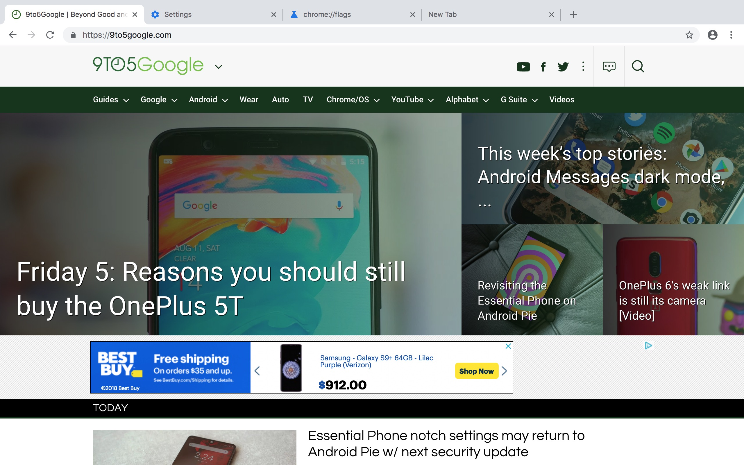 Chrome 69 rolling out 'Material Design refresh' next month