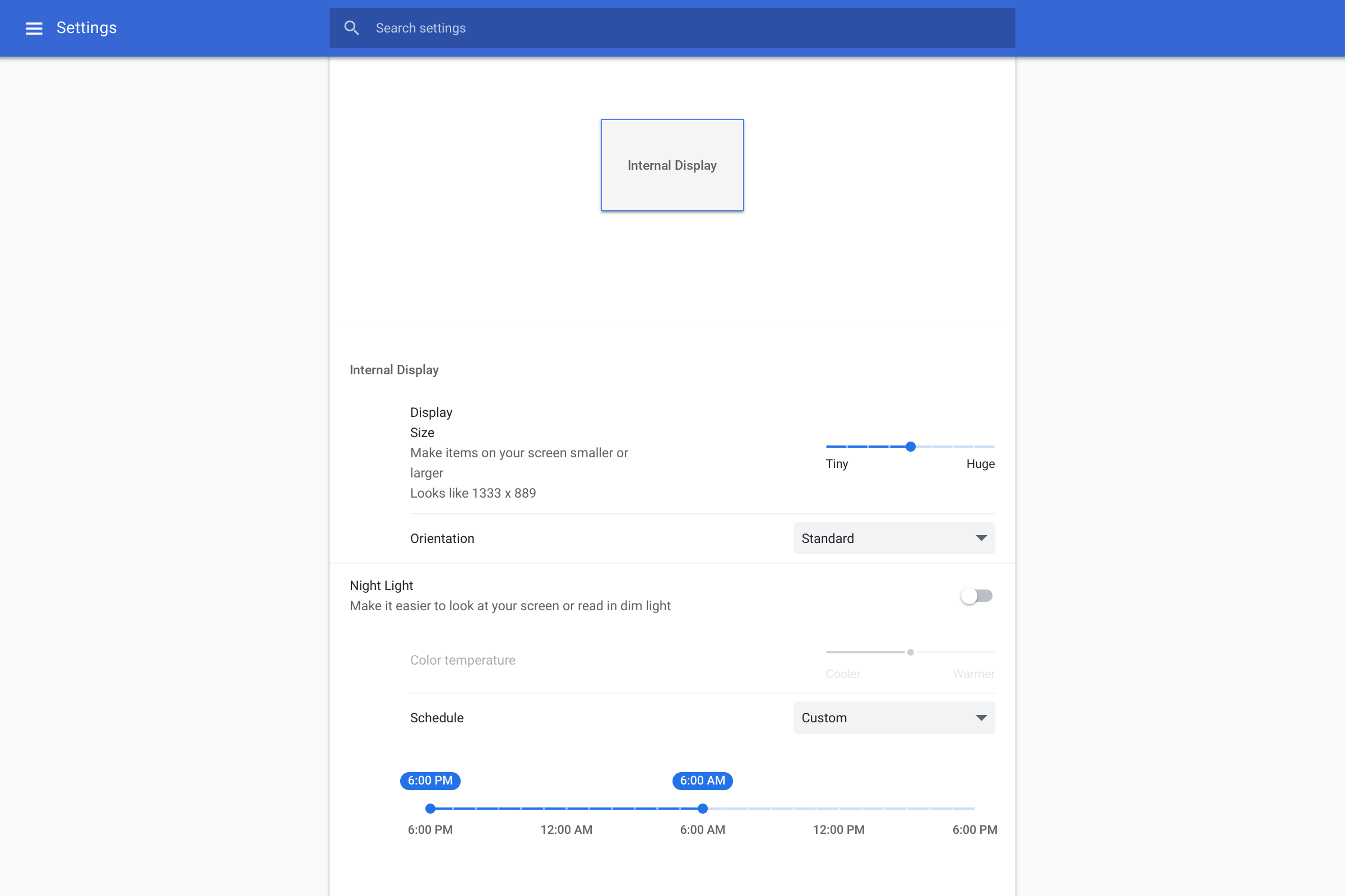 Chrome OS 69 rolling out w/ Google Material Theme, Night Light