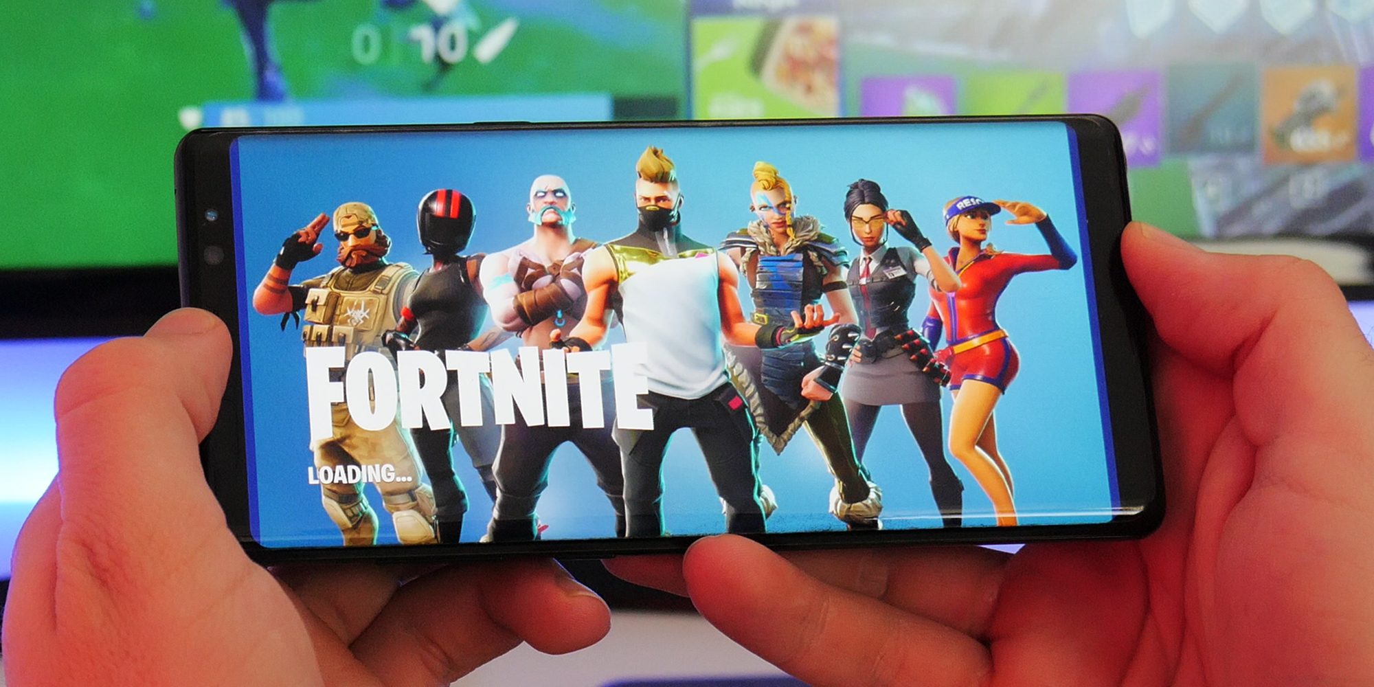 hands on fortnite finally arrives on android here s what you need to know video