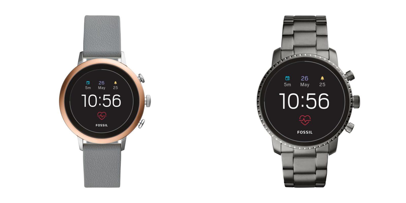 c4505d785 Fossil announces Gen 4 Q Venture HR, Q Explorist HR w/ NFC & GPS, but last  gen chip