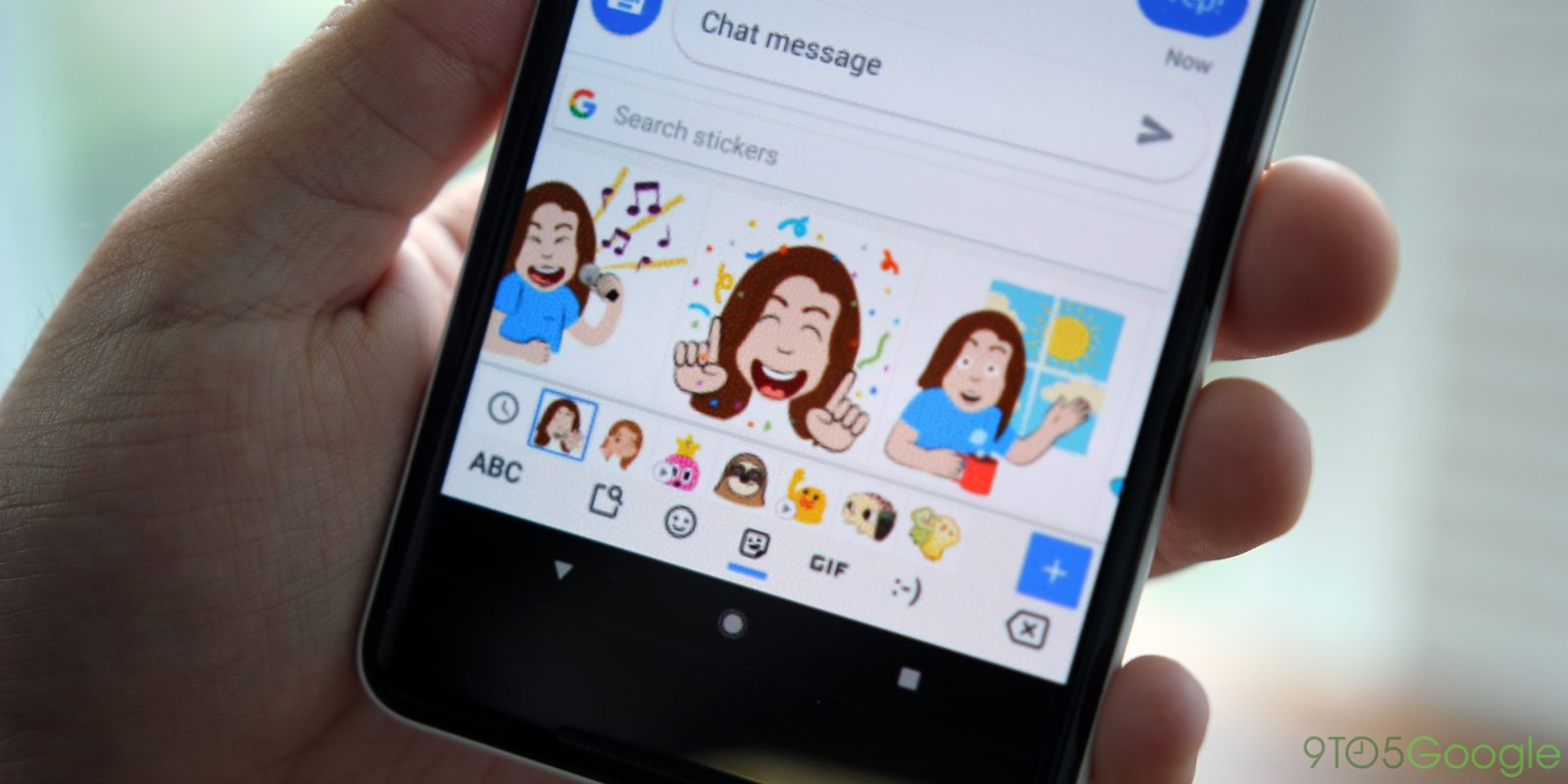Googles mini stickers go official for gboard creates emojis from your selfies