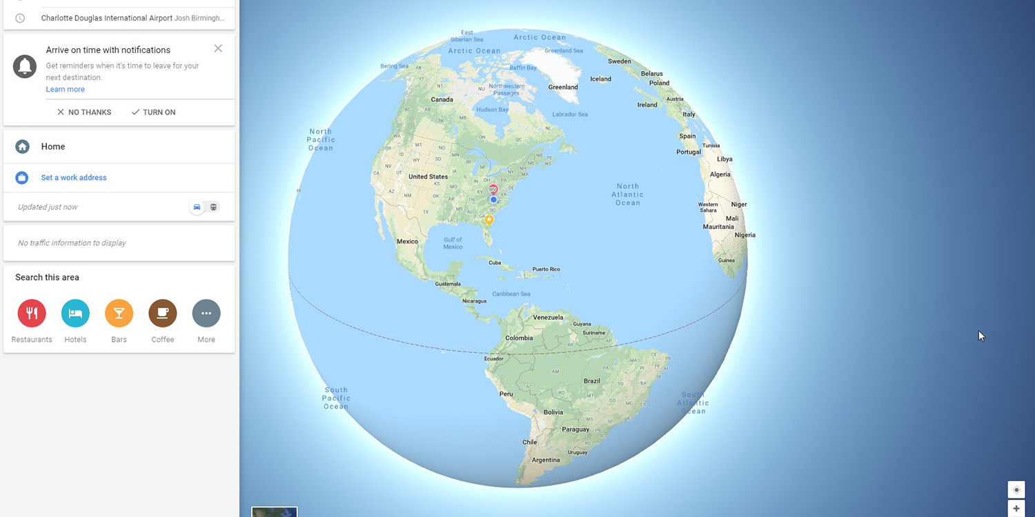 Google Maps Now Shows A Globe Instead Of A Flat Earth When