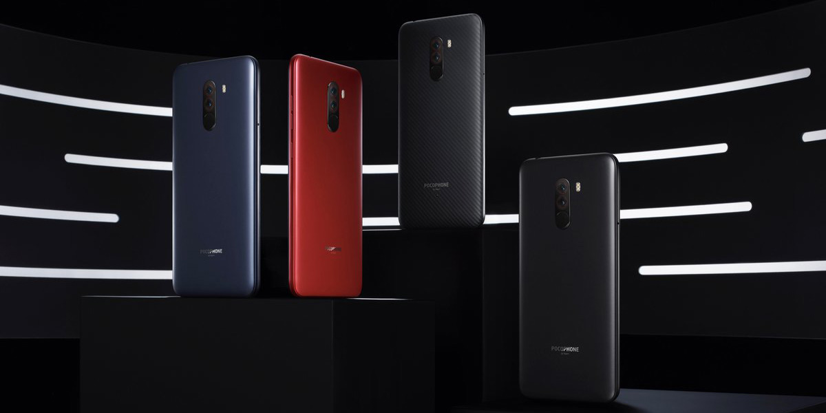 Xiaomi Pocophone F1 Colors