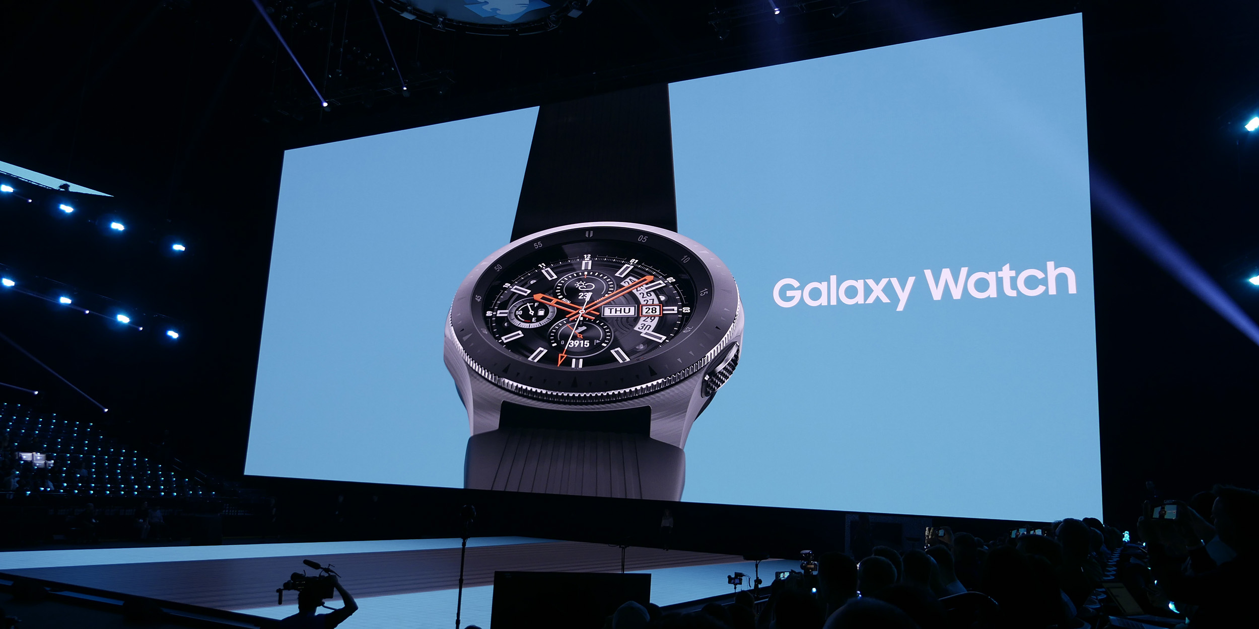 Samsung Galaxy Watch goes official w/ 6-day battery life, LTE