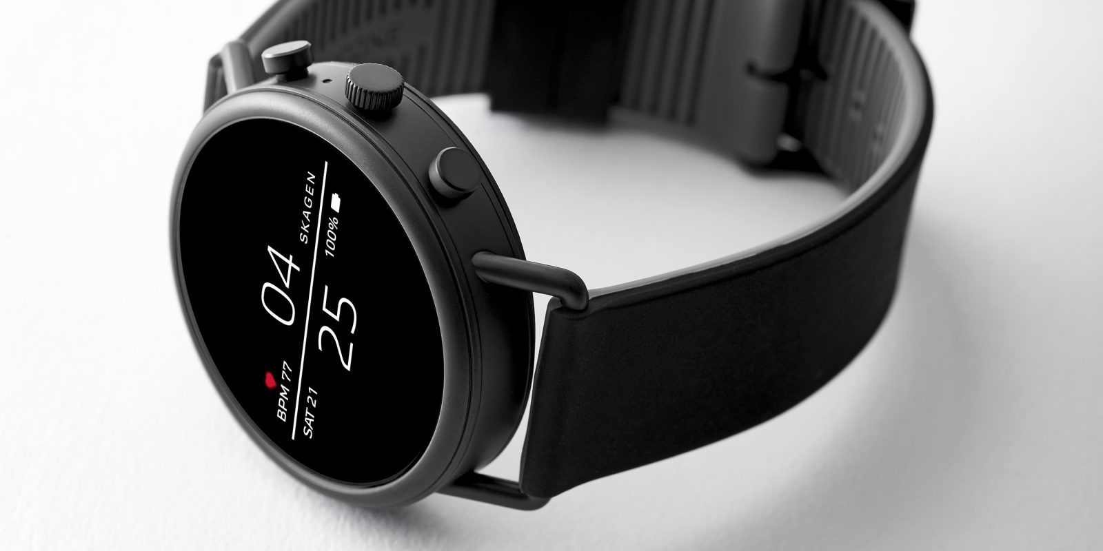 Skagen Falster 2 goes official w/ NFC, heart rate monitor