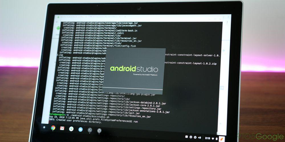 Chrome OS Android Studio