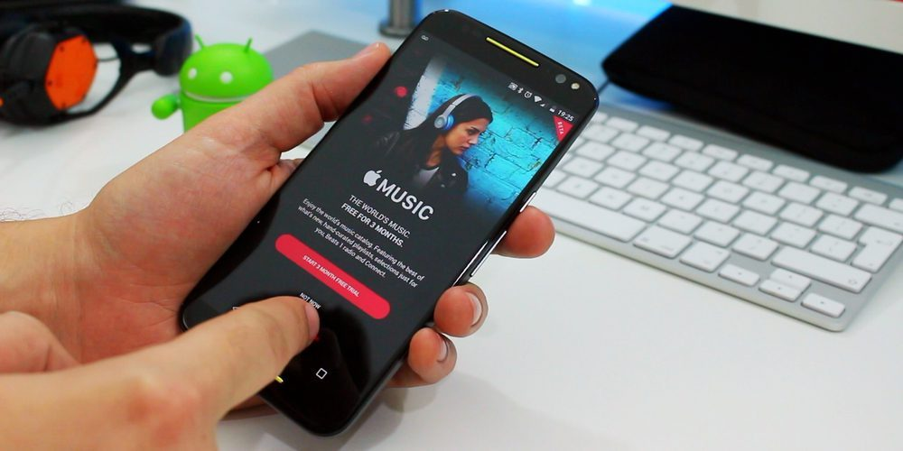latest apple music for android update brings android auto support lyric search more