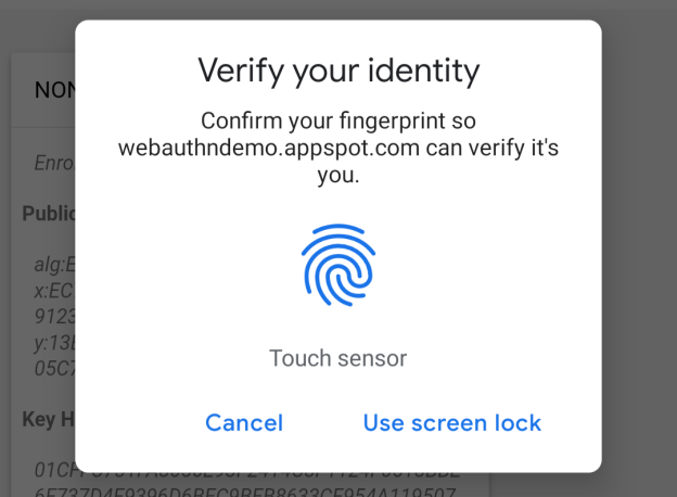 Chrome 70 fingerprint