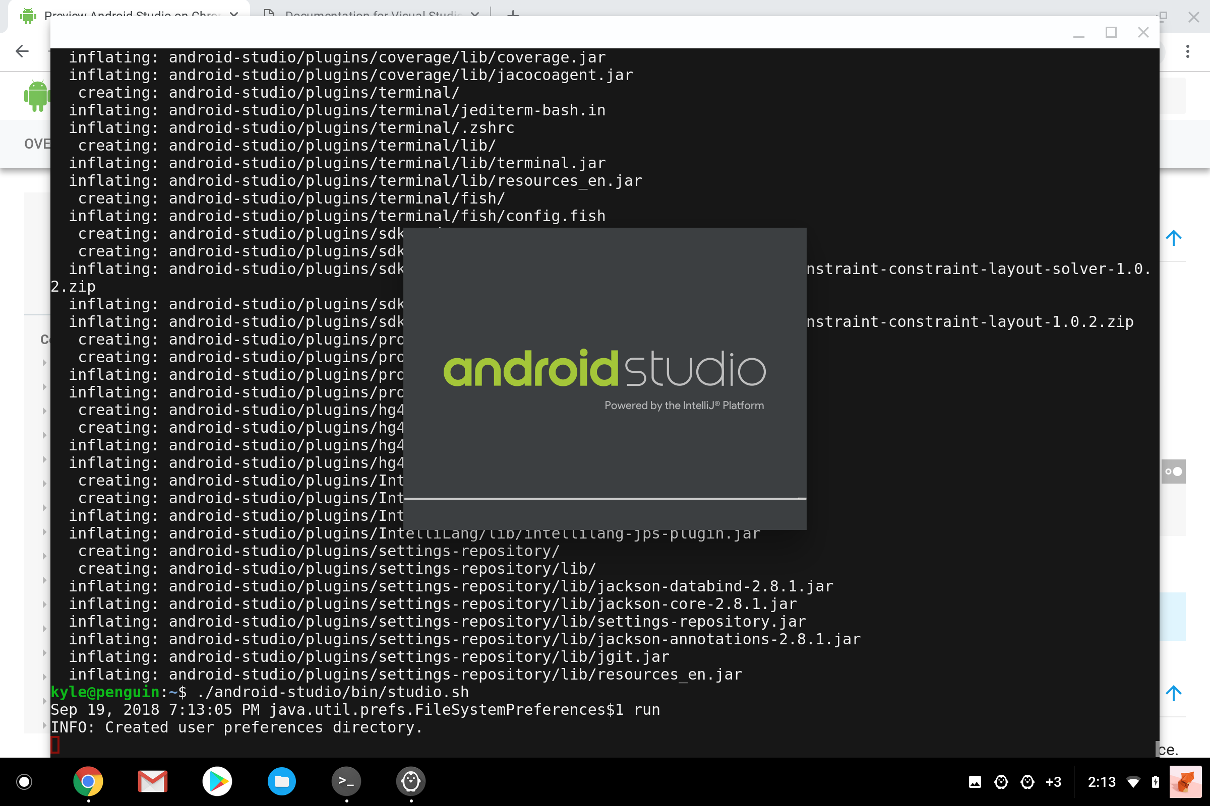 download terminal linux for android