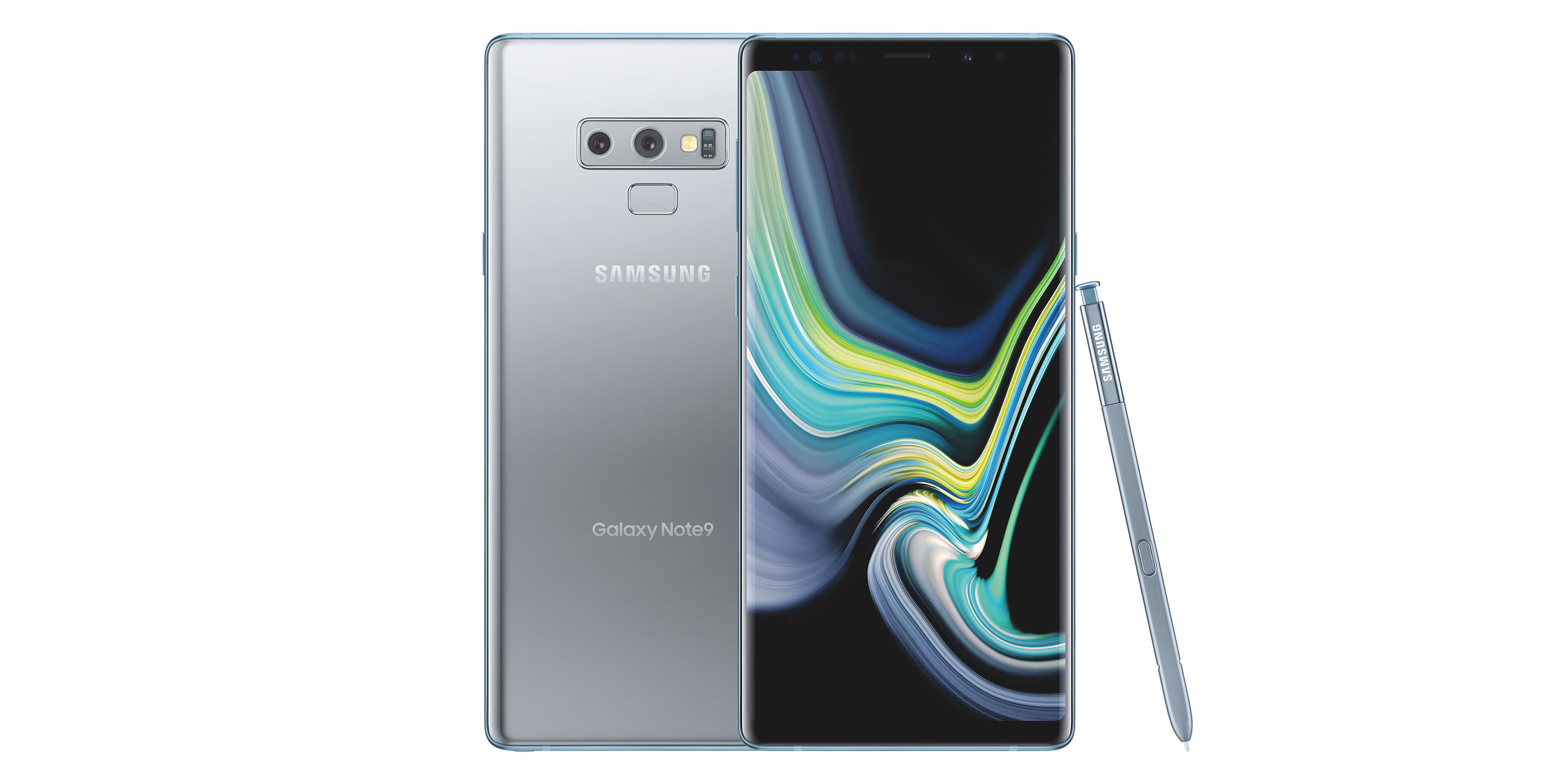 galaxy note 9 in cloud silver