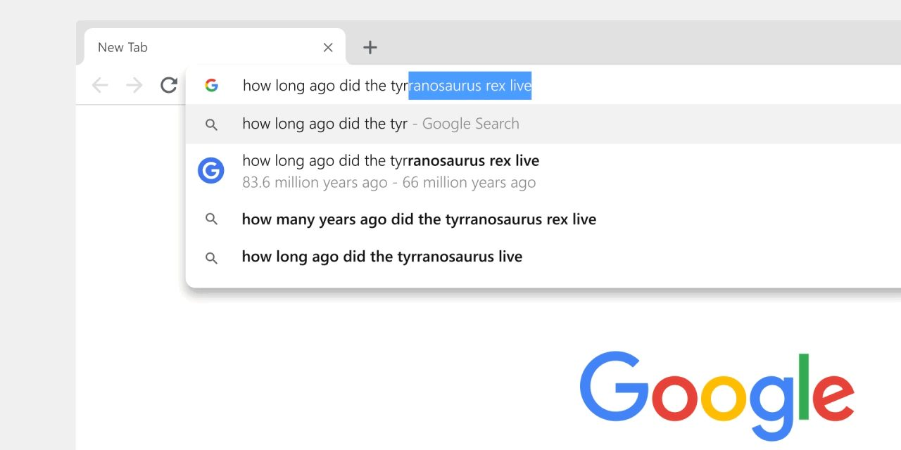 Chrome testing Google Drive search results in the Omnibox