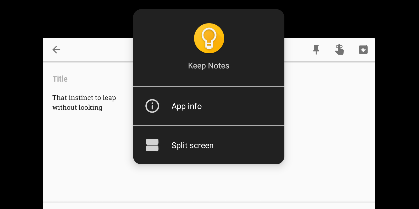 google keep quietly renamed to keep notes on android