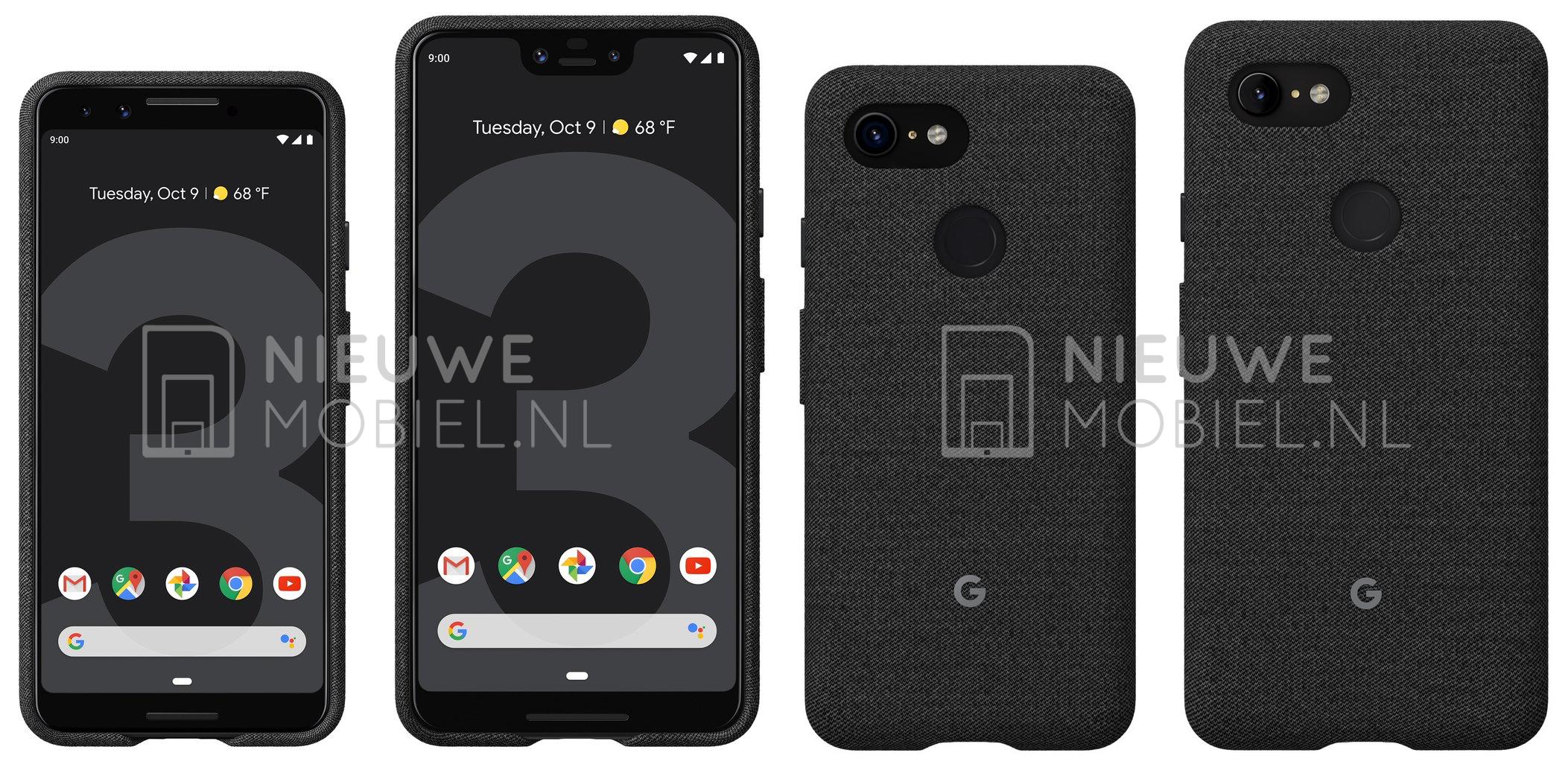 Google Pixel 3 official