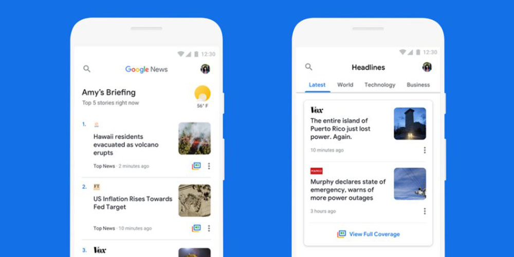 google news gets data saving enhancements with offline saving rolling out soon