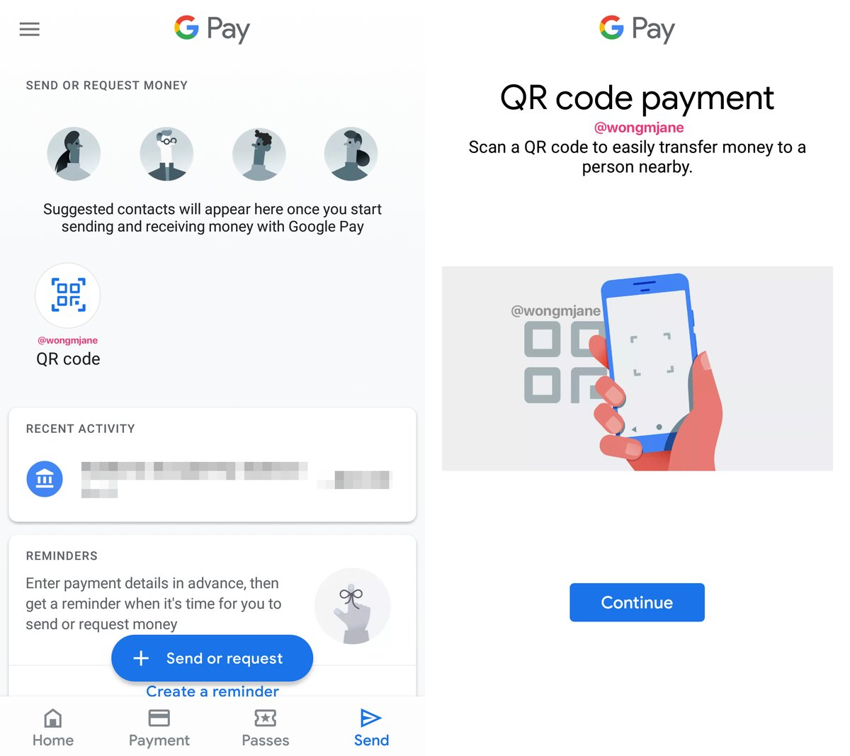 google pay qr code scanning