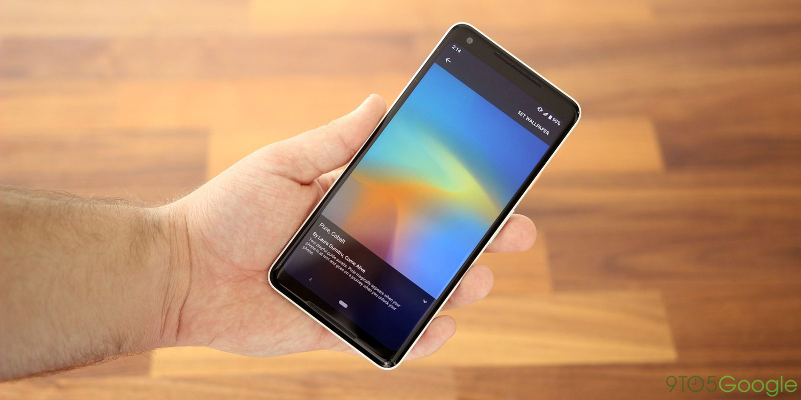 Hands On W Google S Pixel 3 Live Wallpapers 9to5google