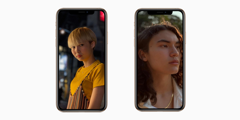 iphone xs portrait