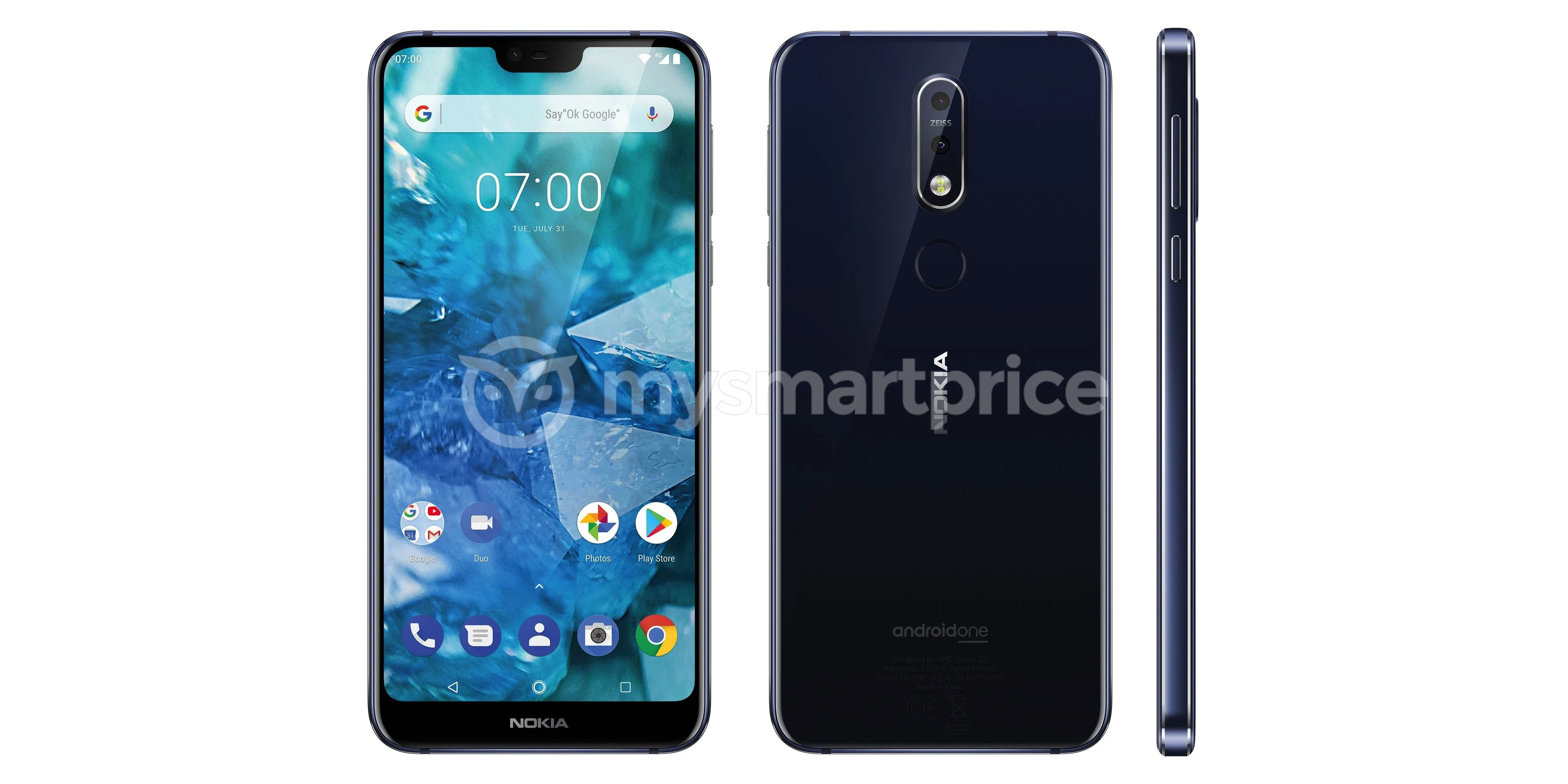 nokia 7.1 plus leaked render