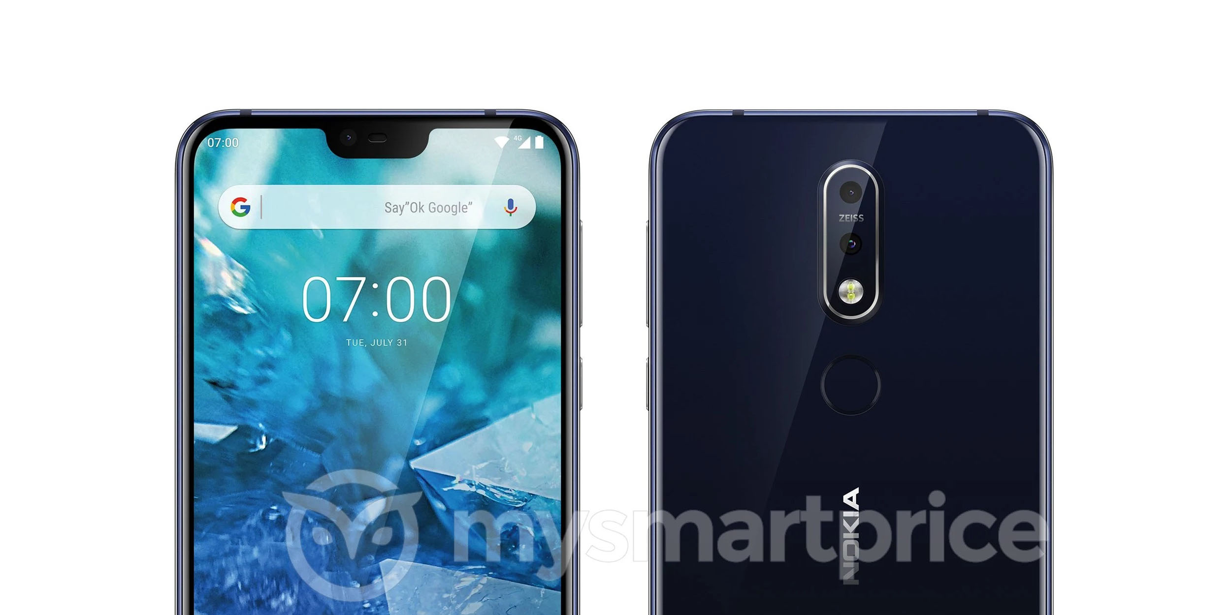 alleged nokia 7 1 plus leak shows off notched display dual cameras android one branding