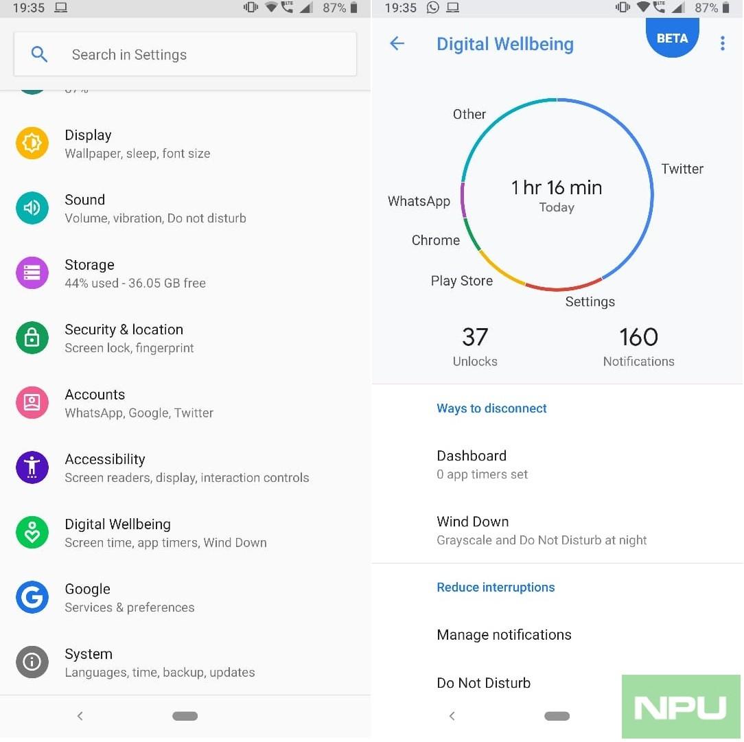 nokia 7 plus digital wellbeing