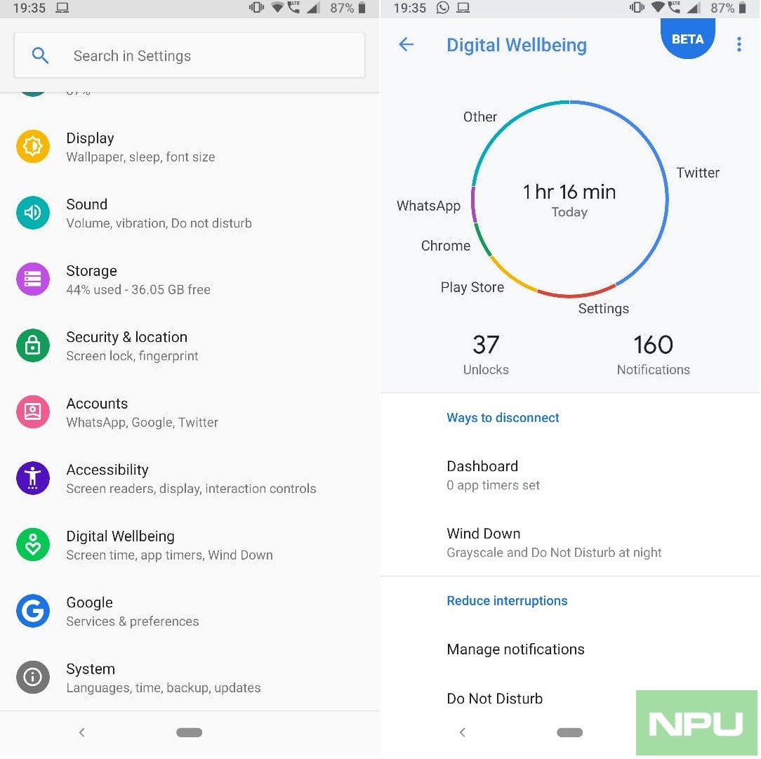 Google's Digital Wellbeing adds support for Nokia 7 Plus