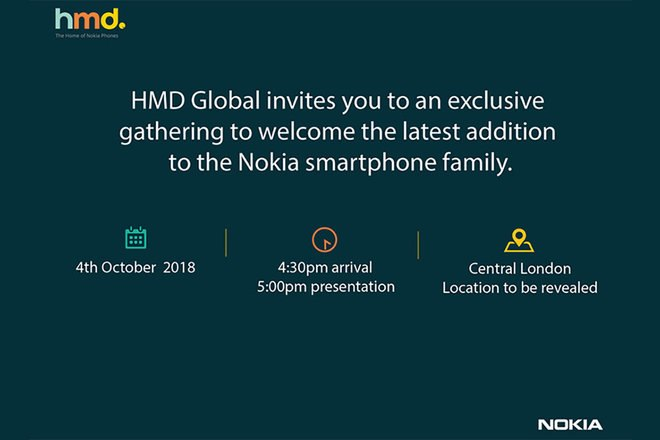 nokia oct 4 launch invite