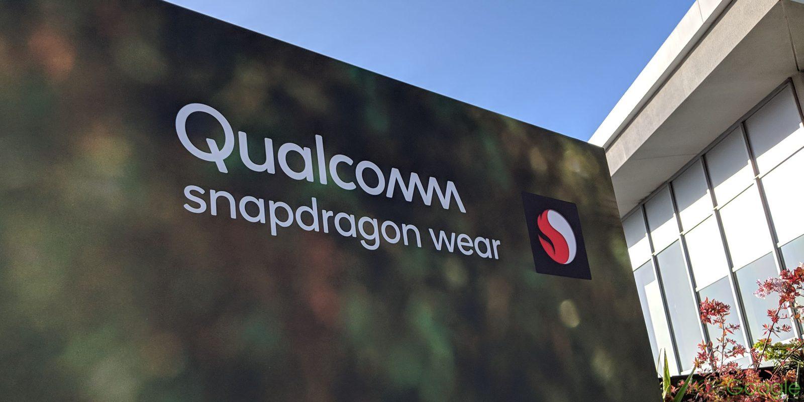 Qualcomm unveils Snapdragon Wear 3100 for next-gen Wear OS